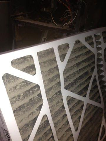 Dirty Air Filter 2